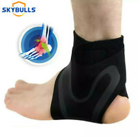 1 Ankle Support Brace Compression Sleeve Foot Pain Relief for Exercising Jogging