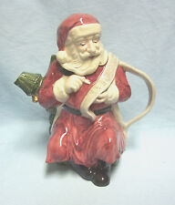 Collectible Ceramic Santa Teapot Tea Pot & Lid Vintage Windsor Collectible