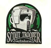 """Star Wars Celebration Chicago 2019 Scout Trooper """"Endor"""" Embroidered Patch -new"""