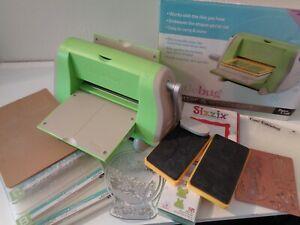 Cuttlebug Die Cutting & Embossing Machine With Die Bundle & All Plates