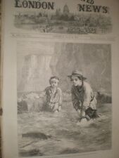 Boys and Boat by G H Thomas 1866 print ref C