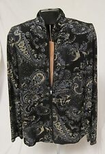 Jeanne Alexander Evening Cocktail Jacket & Nicola Petite Gold Top Womens PP PS