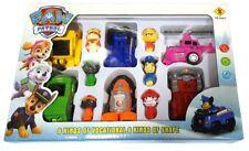 PAW PATROL HUND PATROL 6x figuren in Autos CHASE RUBBLE ROCKY SKY ZUMA MARSHALL