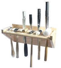 Martillos y mandriles Soporte Organizador De Madera/Soporte para bancos de madera estándar