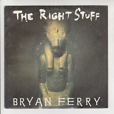 "Bryan FERRY Vinyl 45T 7"" THE RIGHT STUFF & Brooklyn Mix VIRGIN 90358 F Rèduit"