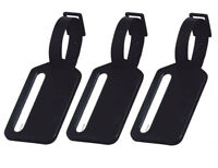 3 Stück Namensschild für Koffer | Gepäckanhänger Kofferschild Kofferanhänger