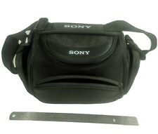 Sony LCS-CSH Soft DLSR Camera Carrying Case For Cyber-Shot Bag Black