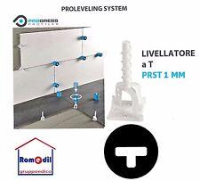 Livellatori Pavimento Piastrelle Proleveling Sistem 100 PZ A T  PRST 1 2 3 MM
