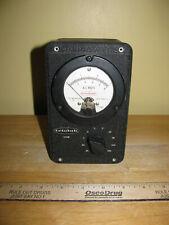 New Listingvtg Triolab Vacuum Tube Voltmeter Model 103 2