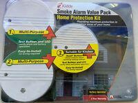 Kidde Smoke Alarm Value Pack Home Protection Kit (3 Alarm Pack)