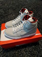 Nike Dunk High Ultra String Mens Shoes Grey Size 10