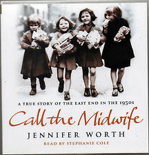 4 CD CALL THE MIDWIFE (Jennifer Worth)  4 x CD Audio Book Audiolibro In Inglese