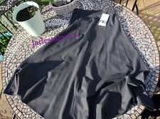 Grey Zara Midi Skirt XS Extra Small 6 New