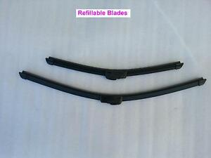 Toyota Hilux Surf 1990-1996 Refillable Windscreen Wiper Blades A pair