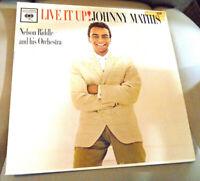 Vintage Rare 1962 Live It Up! Johnny Mathis LP Vinyl Album Columbia Records