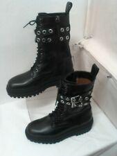 Womens ZARA Black Boot UK 6 EU 39 CG E02