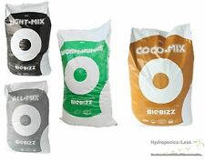 BIOBIZZ Worm-Humus, All Mix, Light Mix & Coco Mix Hydroponic Growing Media Soil