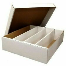 3200 Ct Count 4-Row Monster Sports Gaming Trading Card Storage Box Brand New