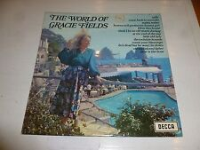 GRACIE FIELDS - The World Of Gracie Fields - 1970 UK 13-track compilation LP