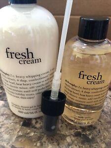 Philosophy Fresh Cream Bath & Fragrance Set