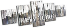 Wooden New York Decorative Posters & Prints