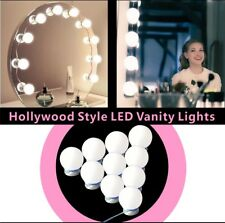 Hollywood Mirror Vanity LED Light Makeup Dressing with 10 Bulbs Dimmer AU Plug