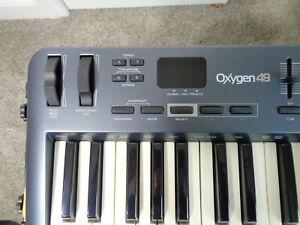 M-Audio Oxygen 49 (3rd Generation) 49 Key USB Midi Controller Keyboard