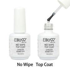 Elite99 No Wipe UV LED Top Coat GEL Polish Nail Design Varnish 15ml
