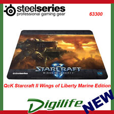 SteelSeries QcK Starcraft II Wings of Liberty Marine Edition Mouse Pad - 63300
