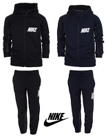 Nike Boys Kids Tracksuit Jogging Bottoms Hoodie Jacket Top Training Pants 5-14