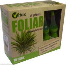 Vitax Drip Feed Plant Food Fertiliser Foliar feed Wholesale Bulk 20 x 10 Pack