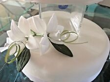 WEDDING CAKE SUGAR STAR LILIES IN WHITE ALSO IN MORE COLOURS  ,