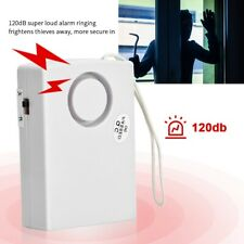 120dB Touch Sensor Security Alarm Home Travel Door Window Burglar Alarm System