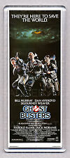 GHOSTBUSTERS movie poster WIDE FRIDGE MAGNET - 80's CLASSIC!