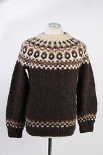 Vintage  Pullover Jumper Fashion Warm Winter Round Neck Unisex  Multi - IL1777