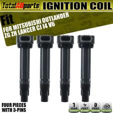 4x Ignition Coils for Mitsubishi Outlander ZG ZH I4 2.0L 2.4L 06-2012 Lancer CJ
