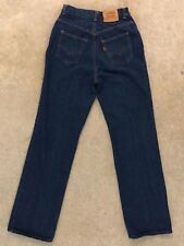 Vintage Levis Jeans Orange Tab Denim Indigo Usa Junior Mom High Waist boyfriend