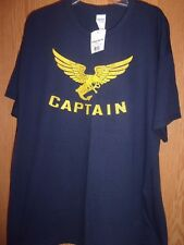 West Marine Graphic Xl CAPTAIN t shirt new Marine Supplies