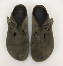 Birkenstock Clogs - Suede / Leather - Tan / Brown - Size 40