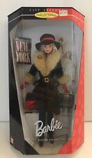 1998 City Seasons NEW YORK Barbie Doll Winter Collection 19429 NRFB