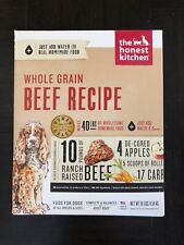The Honest Kitchen Whole Grain Beef Recipe - 10 lb Box
