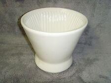 Vintage•White•Ceramic •Coffee•PourOver•Fun nel•Excellent Working Preowned Conditio