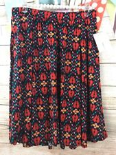 LuLaRoe Madison Skirt Large Pockets Black Red Pink Teal Angel Wings Arrows