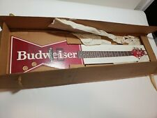 Budweiser Air Electric Guitar Cardboard Sign Advertisement