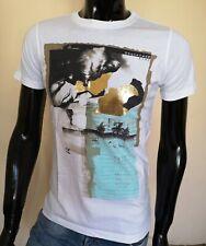 Dsquared2 Men`s T-shirt White LOVE Size: XL SALE