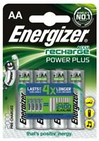 4 x Energizer R6/AA Ni-MH 2000mAh Wiederaufladbar Batterie (Blister)