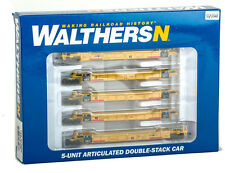 WALTHERS TTX DOUBLE STACK 5 UNIT CAR 929-8108 N SCALE # 72890