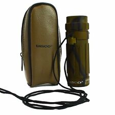 Tasco Monocular Mini 8x21mm Camouflage Camo Belt Holster Spotting Scope Green