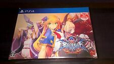 PS4 BlazBlue: Central Fiction LIMITED EDITION Japanese Game PlayStation 4 New