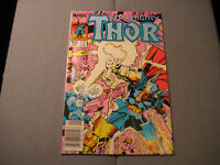 The Mighty Thor #339 (1984, Marvel) Newsstand 1st Stormbreaker